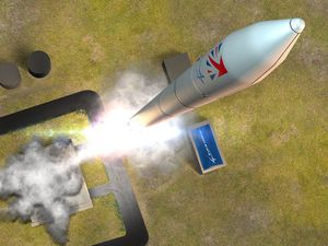 The future Lockheed Martin UK Pathfinder Launch from Shetland Space Centre