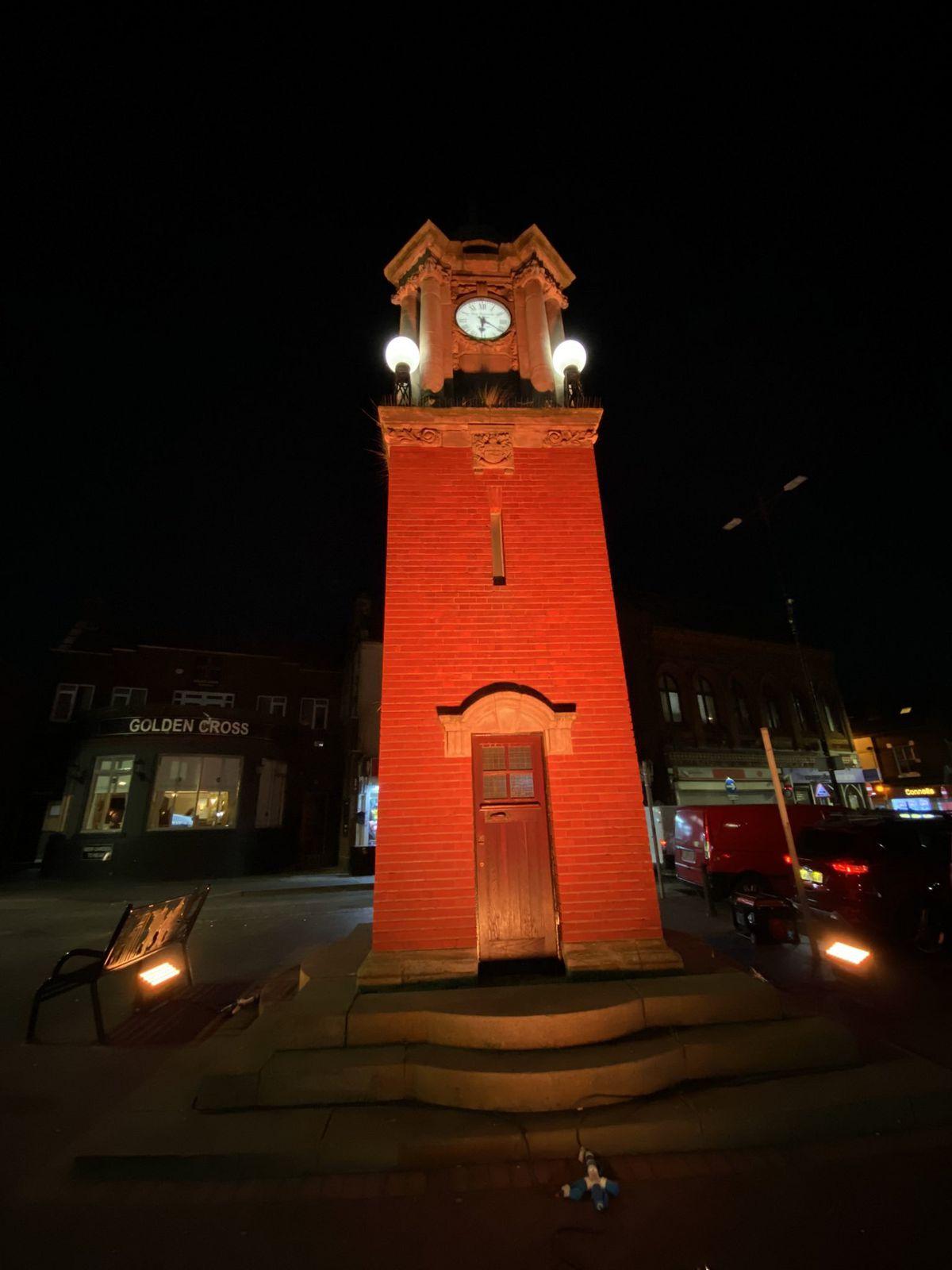 Wednesbury Clock Tower. Photo: John Kennett