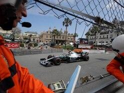 Hamilton sets the pace around the streets of Monaco