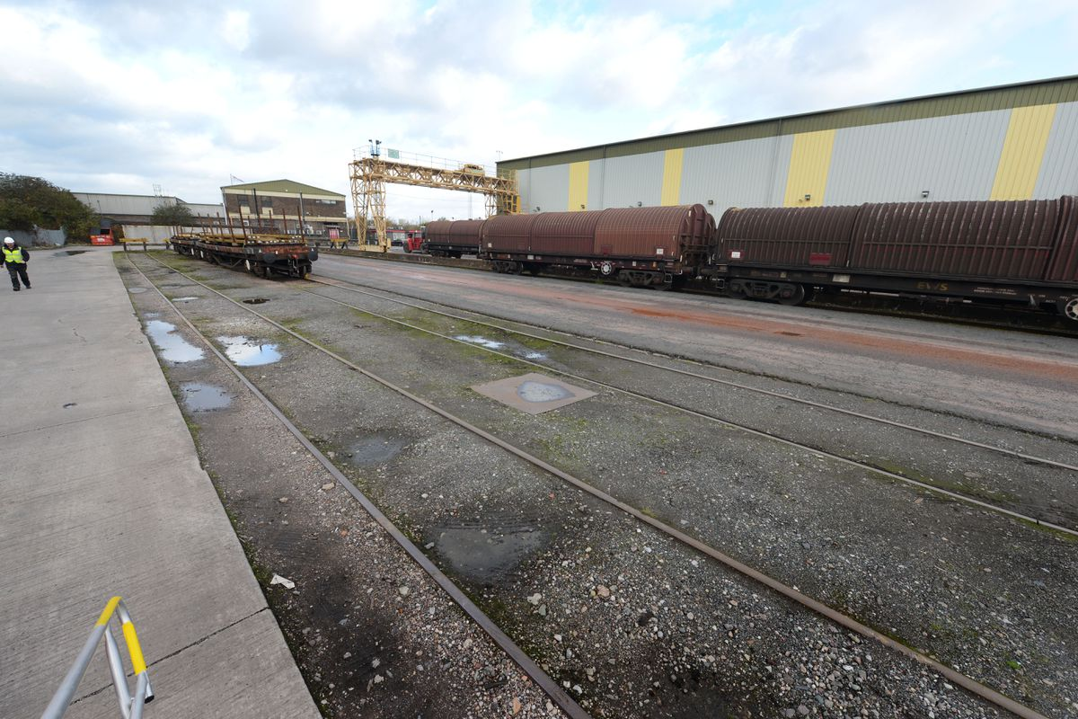 Site of £6m expansion to DB Cargo UK Logistics Centre, at Wolverhampton