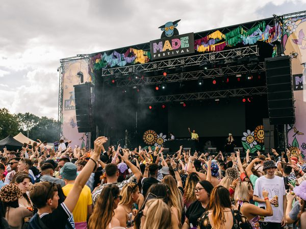 The MADE Festival saw only 15,000 people allowed to attend, rather than the usual 30,000. Photo: Daisy Denham
