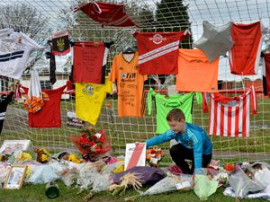 Tributes to Wednesfield FC and local non-league legend Robert Morris.