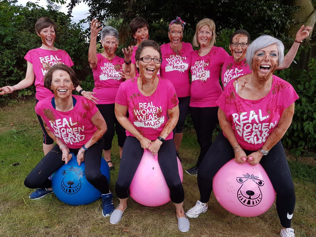 The group who all met while having treatment for breast cancer at hospitals in Stafford and Stoke