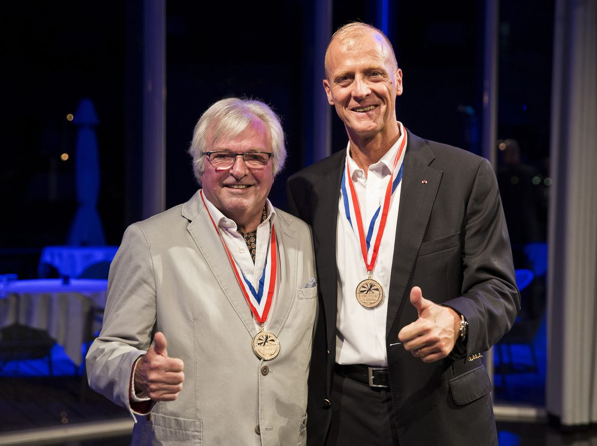 Mike Kendrick is inducted into 'Living Legends' by Tom Enders Picture: @Mirja_Geh