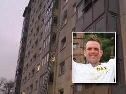 'I didn't think, I just went up': Wolverhampton firefighter on dramatic fifth-floor rescue as boy, 5, dangled by his EAR