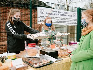 A 'bake off' sale was one of the fundraisers held to come up with the £12,000 needed to save the youth club