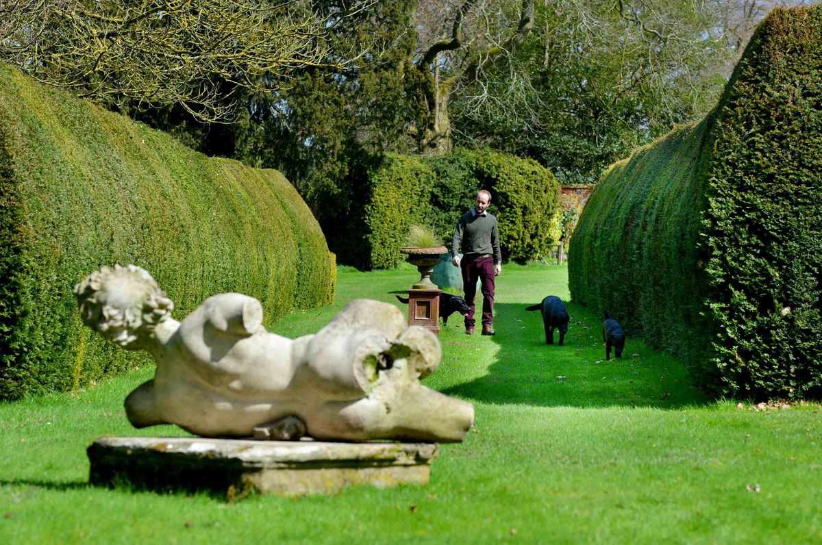 George Williams is showcasing the gardens of Enville Hall