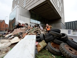 Walsall fly-tipping sculpture a complete waste of time