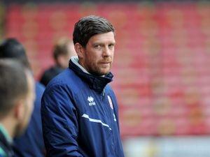 Walsall manager Darrell Clarke.