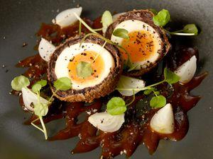 Scotch eggs – laid by the haggis?