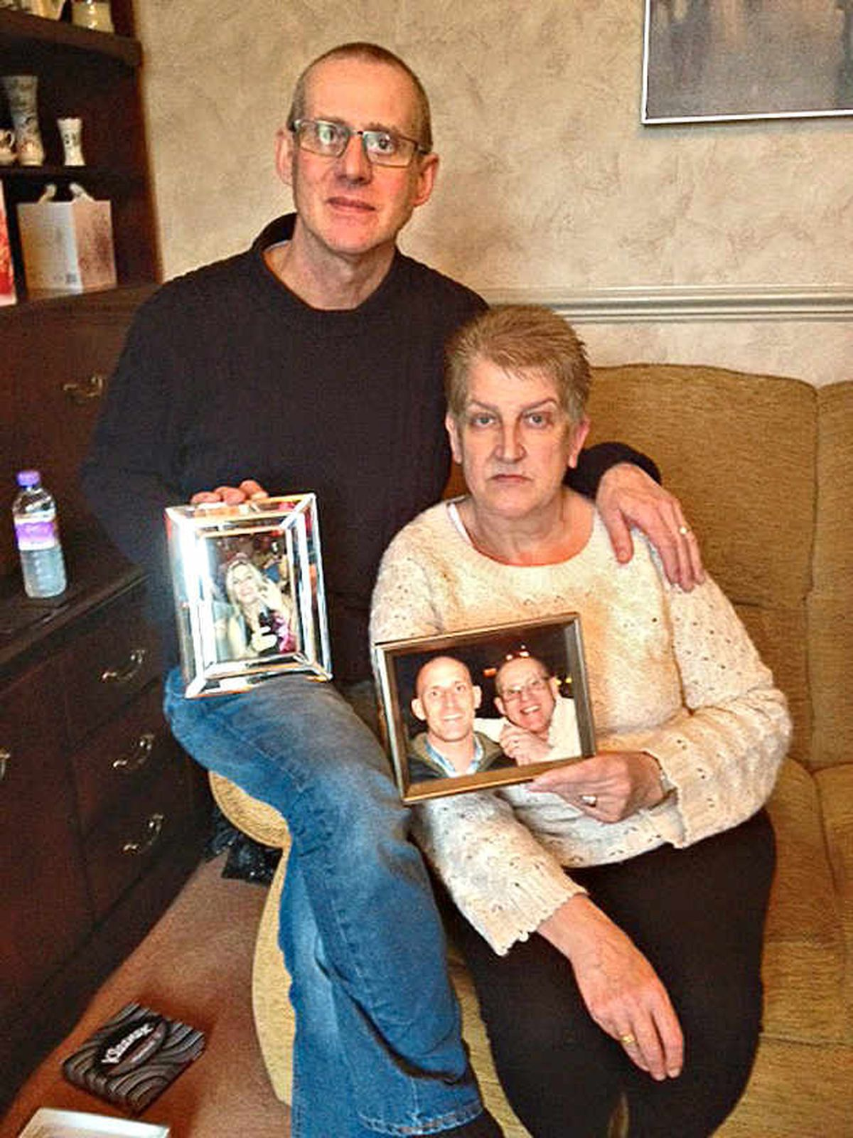 Campaigning – parents Sue and Keith