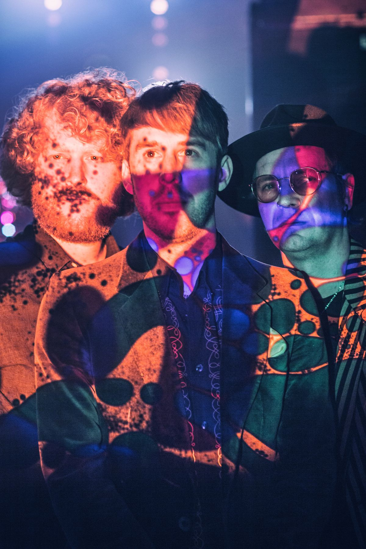 The band are renowned for their psychedelic sound. Picture: Emma Jones