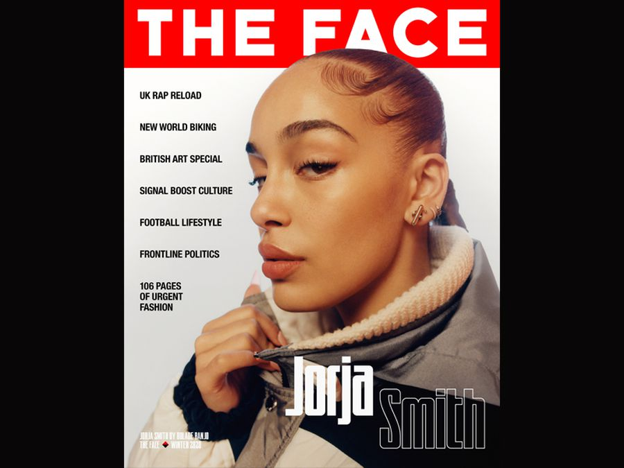 Jorja Smith on the cover of The Face