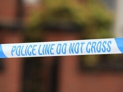 Two in hospital after stabbing during burglary