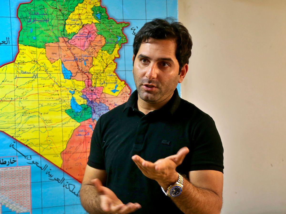 TV presenter Raslan Haddad