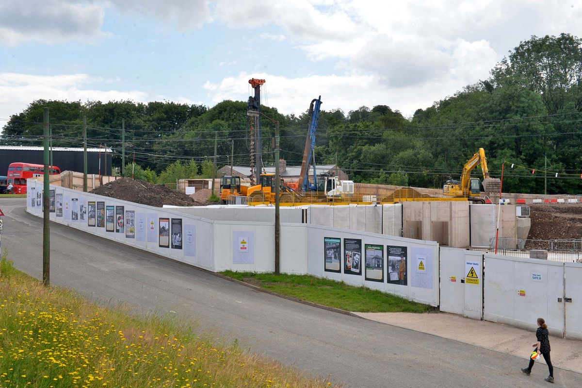 The new postwar town taking shape at the Black Country Living Museum