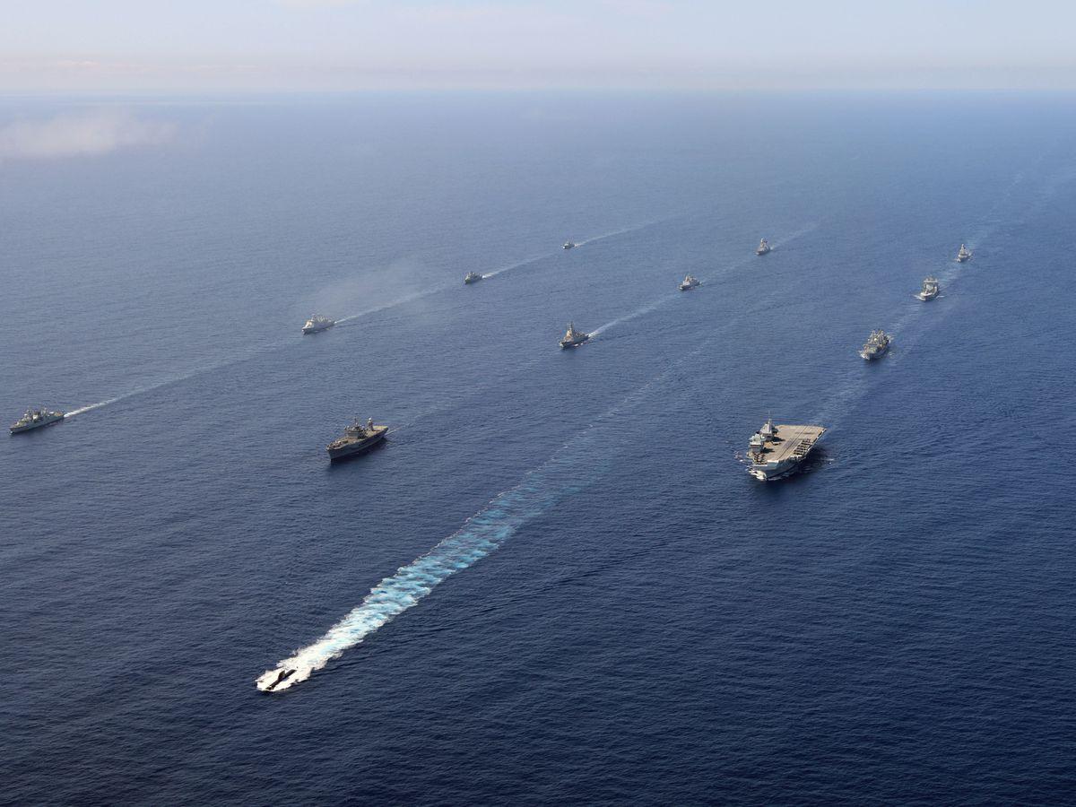 UK Carrier Strike Group 2021