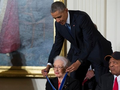 Nasa mathematician Katherine Johnson dies aged 101
