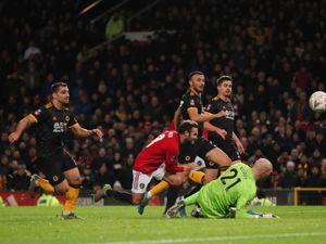 Juan Mata of Manchester United scores a goal to make it 1-0