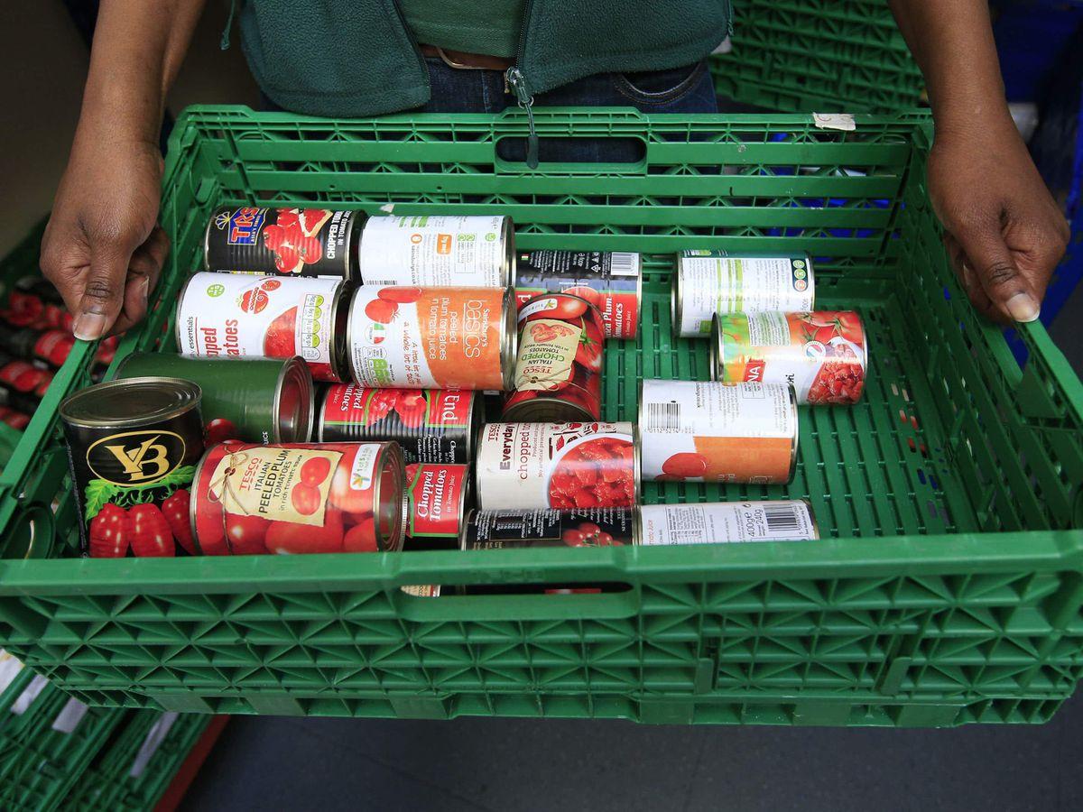 Food bank items