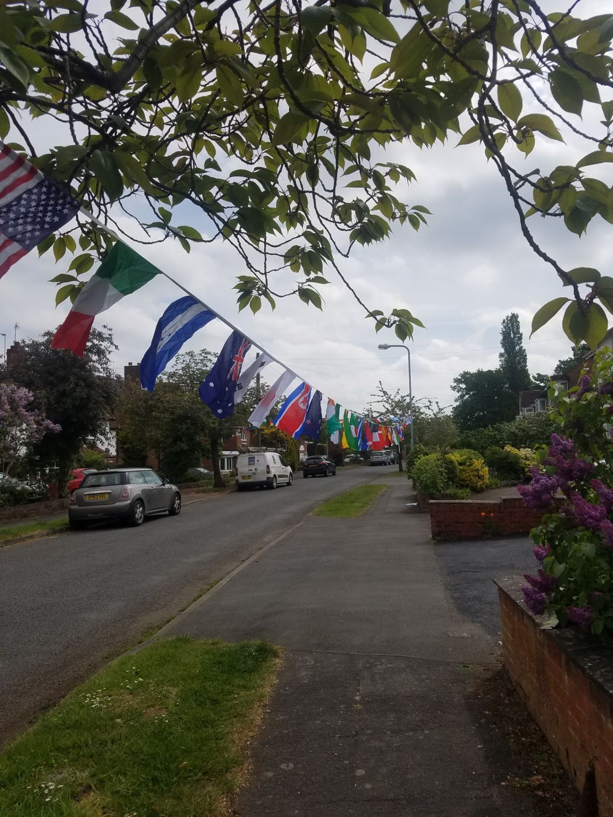 Cranford Road, Finchfield, celebrating VE Day