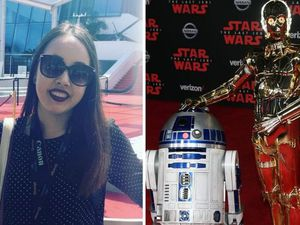 Maria was amazed to get a trainee job on the new Star Wars film