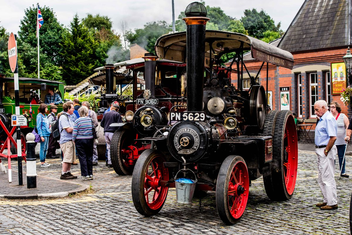 Steam on The Road event at Severn Valley Railway in Kidderminster