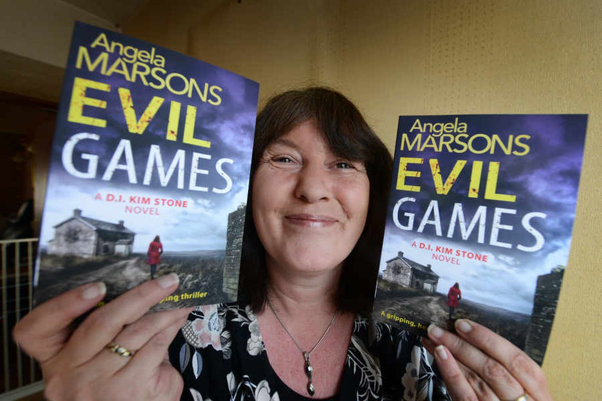 'Evil Games' is Angela Marsons' latest book
