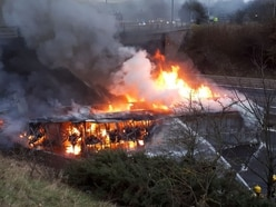 Gridlock and delays as lorry blaze blocks M5 in both directions