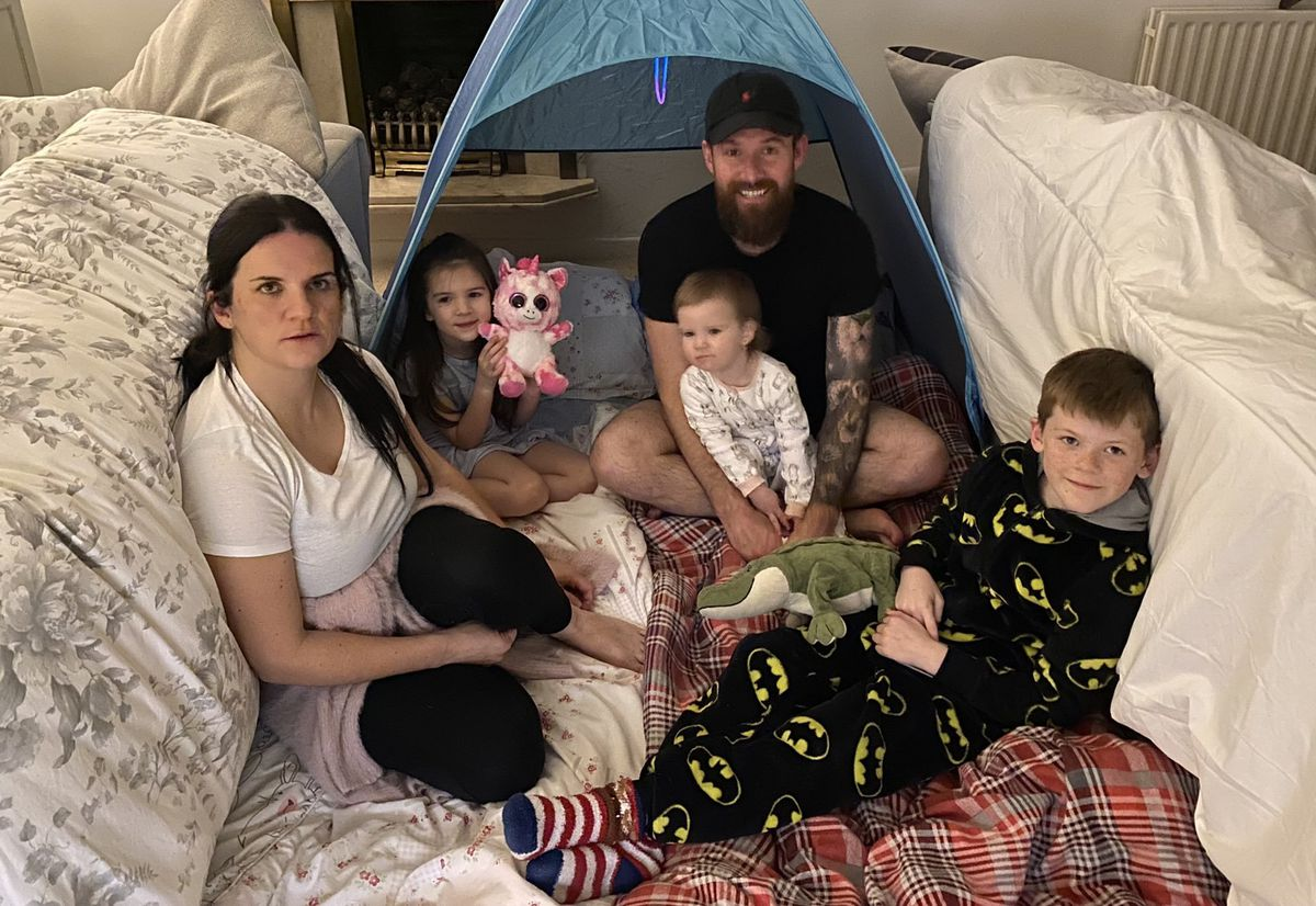 MP Stuart Anderson and his family