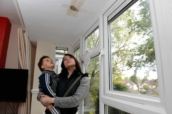 Shock as wasps nest bursts through ceiling of Wednesfield