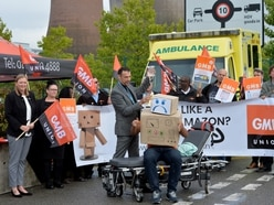 Anger over alleged Amazon warehouse working conditions