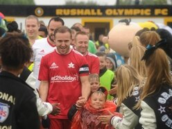 Soap stars score in Walsall charity match - video and pictures