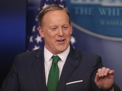 Donald Trump campaigns for former aide Sean Spicer on Dancing With The Stars