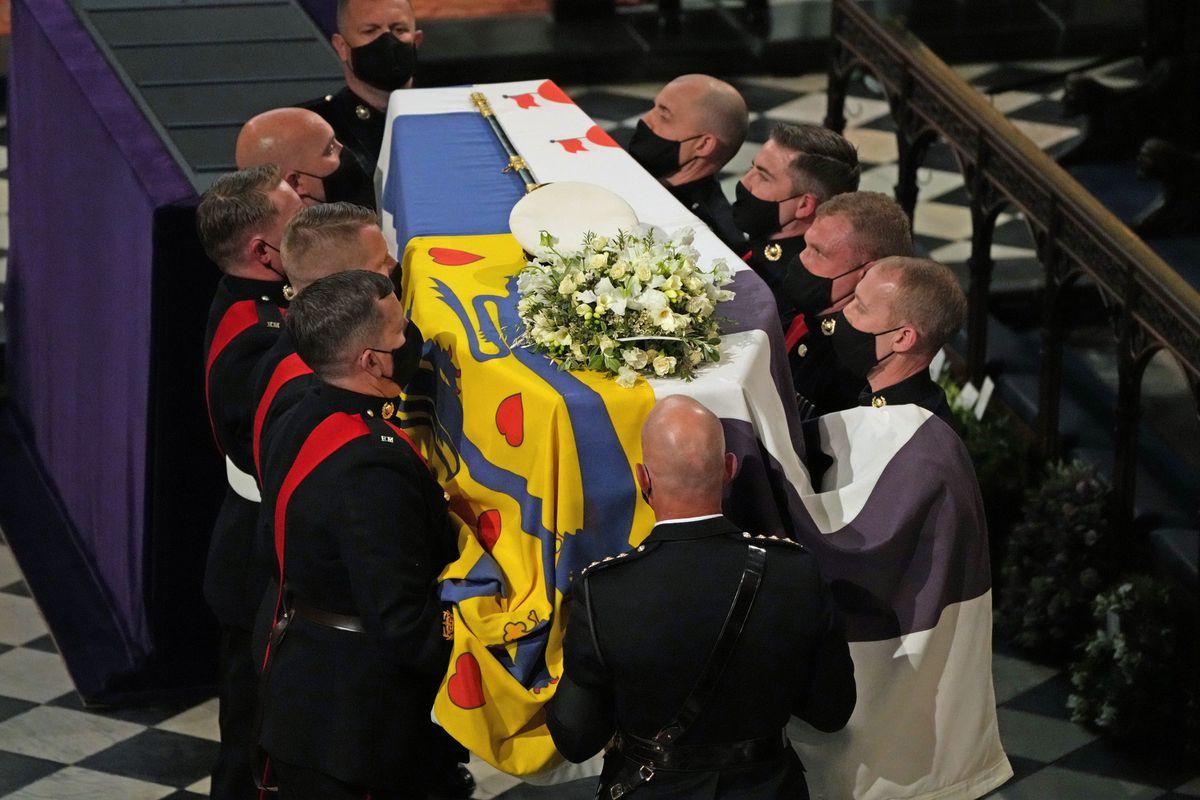 The funeral of the Duke of Edinburgh at Windsor Castle, Berkshire