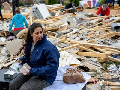 Five deaths after severe storms and flooding hit central US