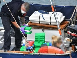 Two charged after significant drugs haul seized from boat off Cornwall