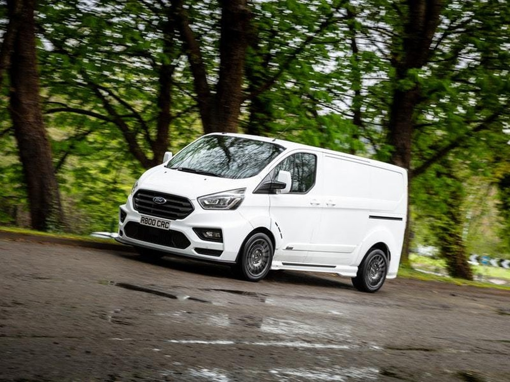 First Drive The Ms Rt Ford Transit Custom Is The White