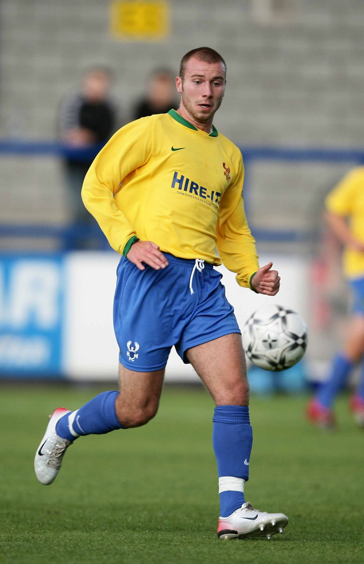 Russ Penn during his playing days for Harriers.
