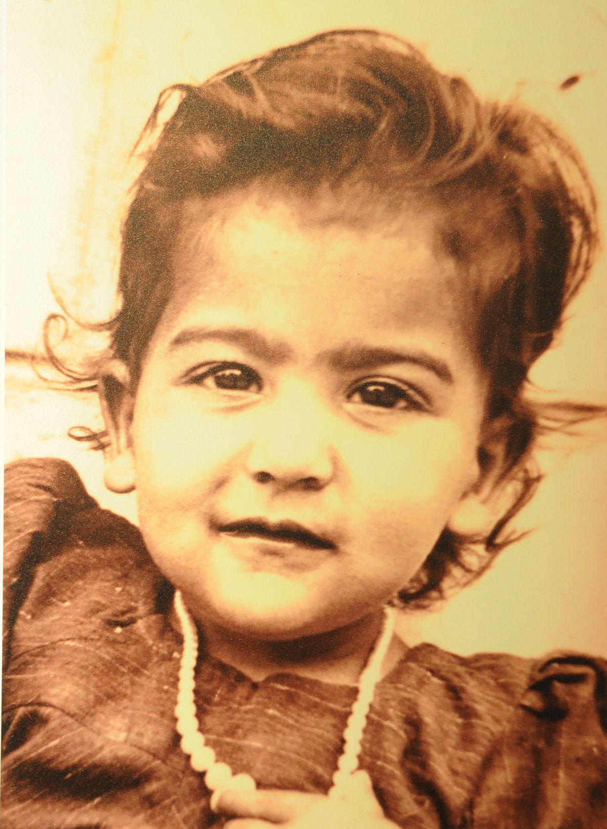 Ranbir, aged 2