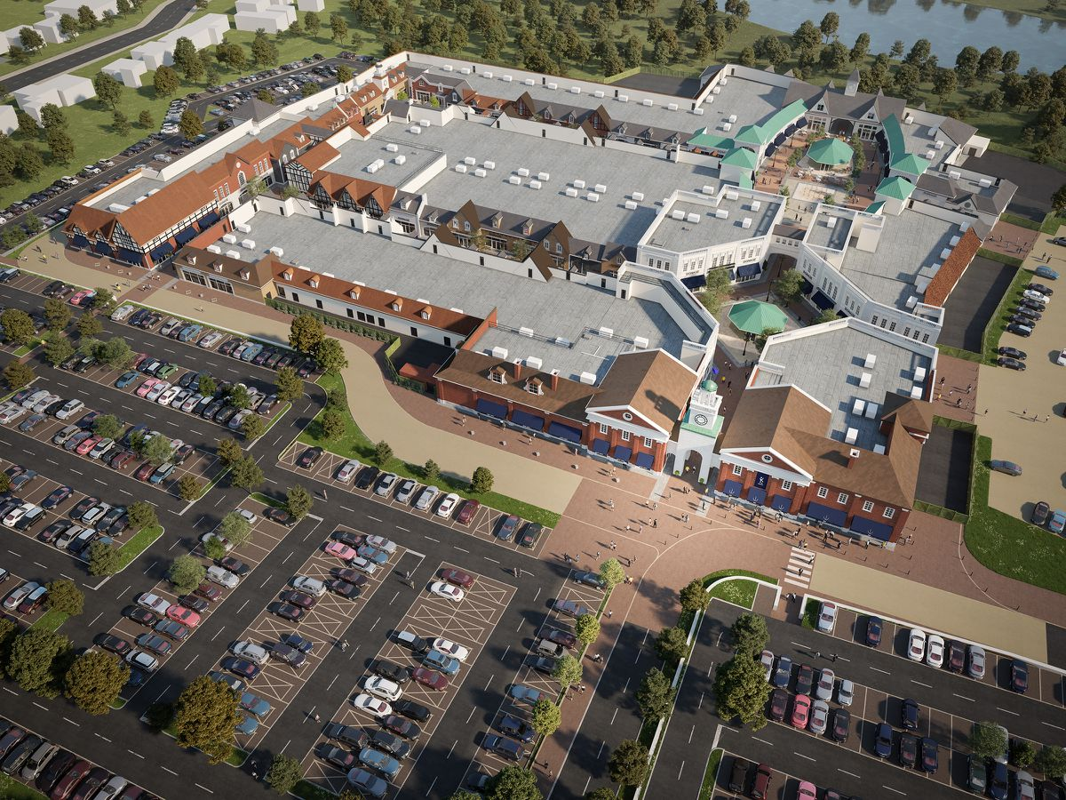 A new dual carriageway will be built in a bid to ease traffic around the new outlet village