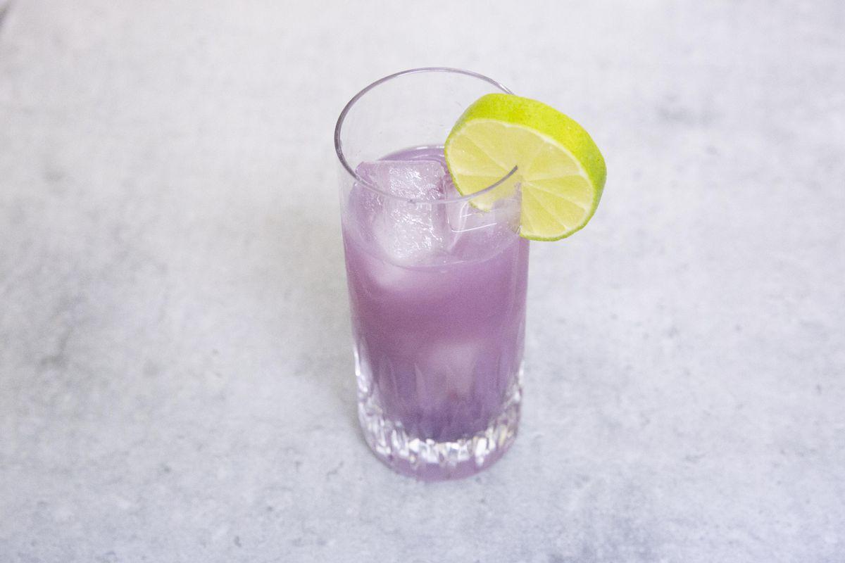Colour-change cocktail