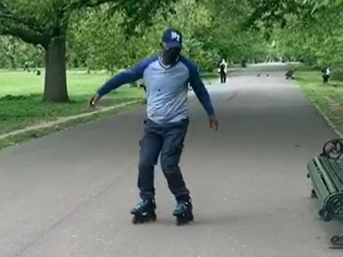 Clayton Jean-Charles roller-skating