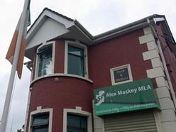 Sinn Fein Belfast HQ 'could have been destroyed' in arson attack