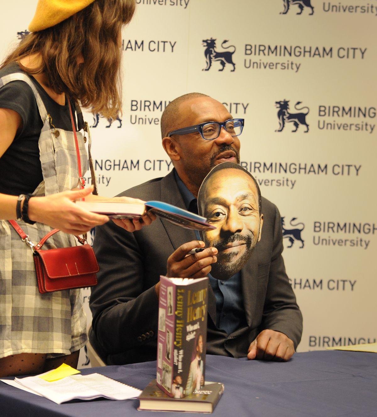 Sir Lenny Henry at Birmingham City University