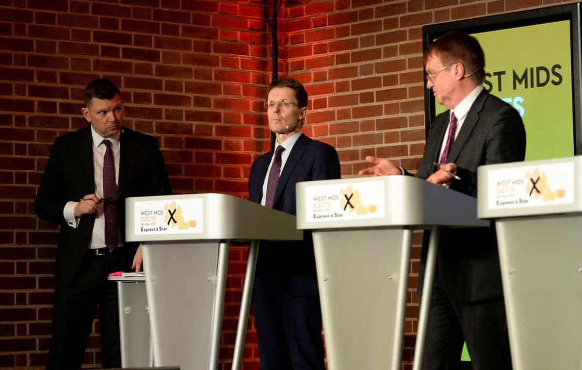 What is the point of the West Midlands Mayor? Hopefuls make case at Express & Star debate
