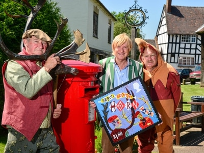 Abbots Bromley Horn Dance commemorated on stamps