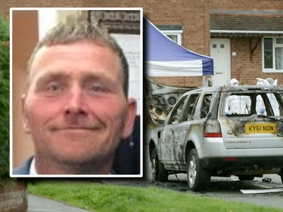 Murder suspect 'out of control' as Richard Helm stabbed to death