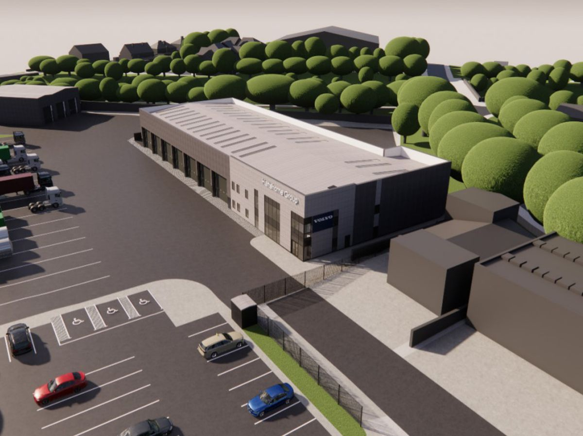A CGI of the proposed new development on Bentley Mill Close, Walsall