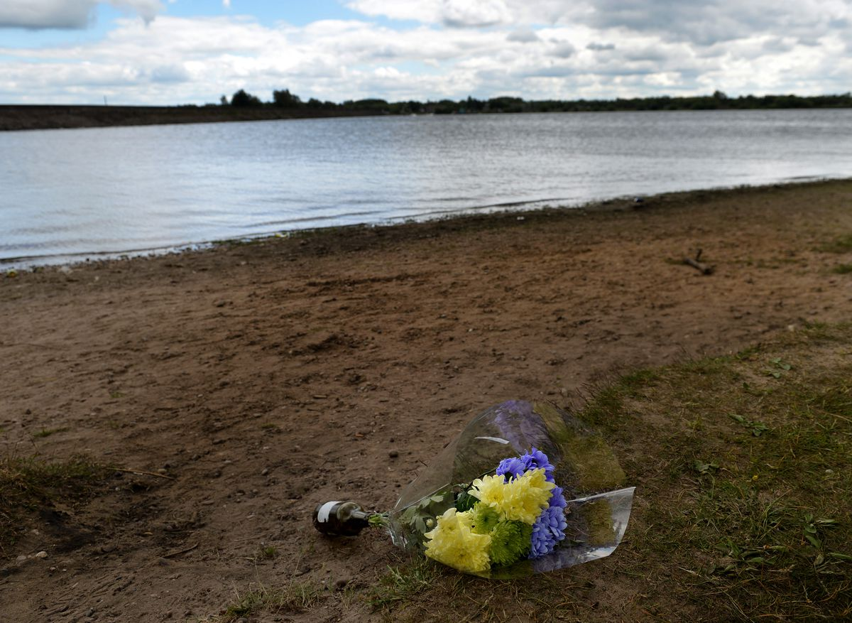 Carl Storer, aged 21, died while trying to rescue a nine-year-old girl at Chasewater